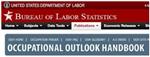 Department of Labor/Occupational Outlook Handbook