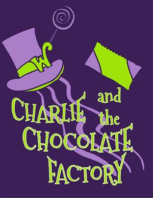poster artwork for Charlie and the Chocolate Factory