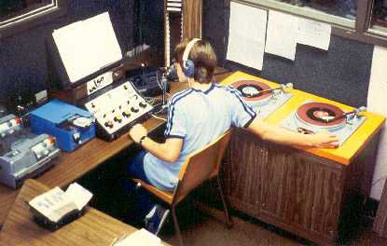 Production studio (early 80's)