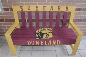 Photo of 50 years commemorative bench