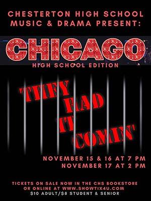 Image of Poster of CHICAGO High School Edition