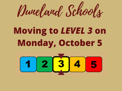 DSC Move to Level 3 on October 5