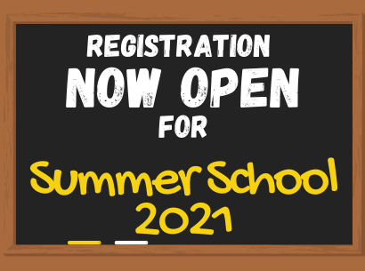 Summer School 2021 Information