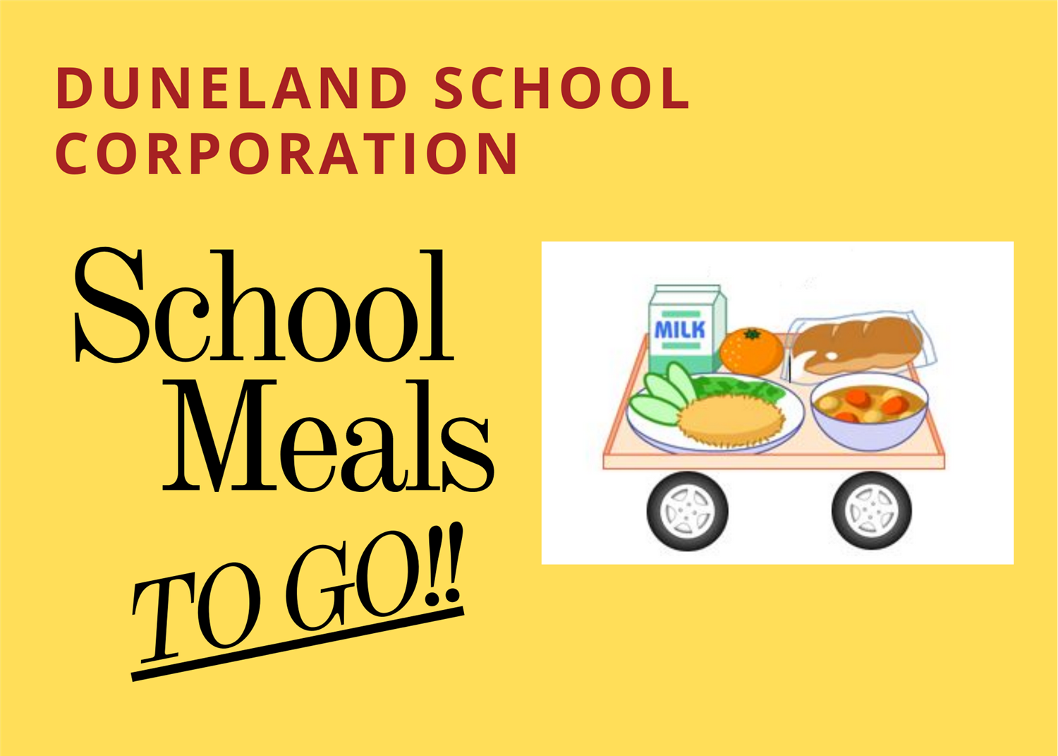 School Meals TO GO!