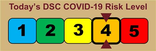 Today's DSC COVID-19 Risk Level
