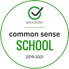 Image of Common Sense School badge for 2019-2020
