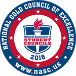NASC National Gold Council of Excellence seal