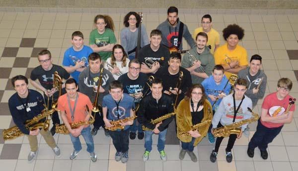 Photo of CHS Jazz Band