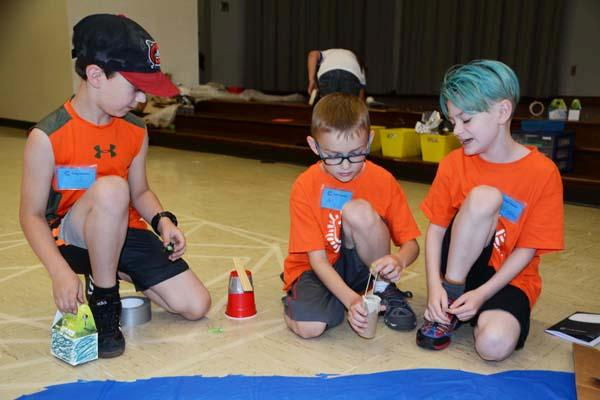 Students at Camp Invention