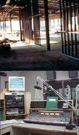 Construction of new studios and completed FM studio