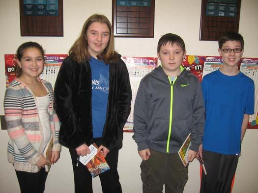 February 2015 Students of the Month